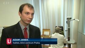Oční centrum Praha v Událostech České televize