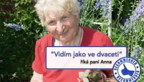 Zaostřeno na zákrok: jak se paní Anně vrátil zrak díky operaci šedého zákalu