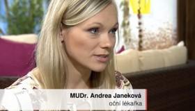 MUDr. Andrea Janeková radí v České televizi