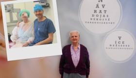 Náročná reoperace v OCP zachránila pacientce zrak!