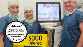S přístrojem nové generace jsme za rok provedli více než 3.000 operací!