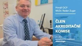 Primář Zugar byl jmenován členem akreditační komise