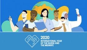 Rok 2020, rok sester a porodních asistentek